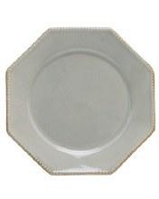 Luzia Soft Gray Oct Dinner Plate