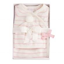 Pink & Ivory Knit Gift Set