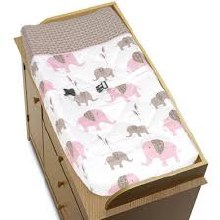 Pink Mod Changing Pad Cover