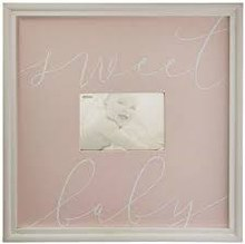 Pink Sweet Baby Frame