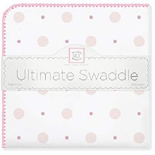 Pink Little Dot Ultimate Swaddle