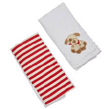 Puppy Burp Cloth Gift Set