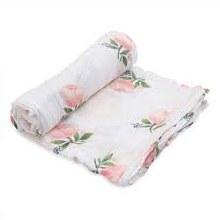Rose Muslin Wrap 2pk