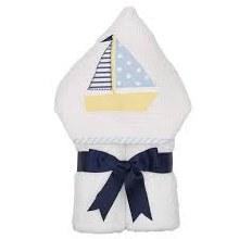 Sailboat Hooded Towel