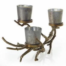 Small Wildwood Candle Holder