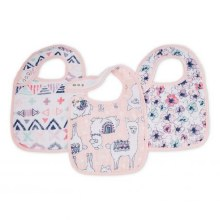 Trail Blooms Snap Bibs