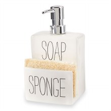 Soap Pump and Sponge Holder