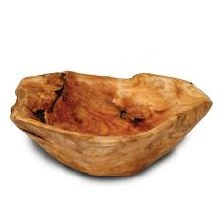 Stained Small Root Bowl