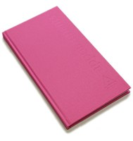 Agenda Appointment Book 3 Column-Hot Pink