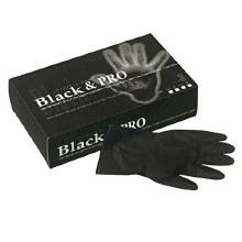 Sibel Black & Pro Latex Gloves Small