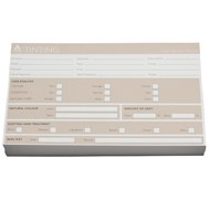 Agenda Client Record Cards Tinting 100Pk