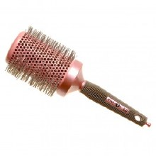Head Jog Ionic Ceramic Pink Radial Brush 80
