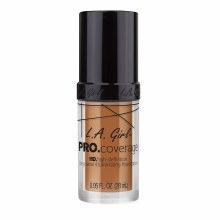 L.A.Girl Pro Coverage Foundation Warm Carmel