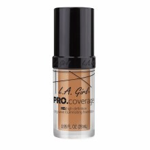 L.A.Girl Pro Coverage Foundation Soft Honey