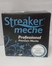 Streaker Meche Professional Premium Meche Short 200 Sheets