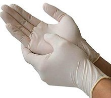 Vinyl Powder Free Glove Small
