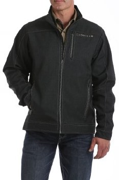 Cinch Textured Bonded Jacket Charcoal
