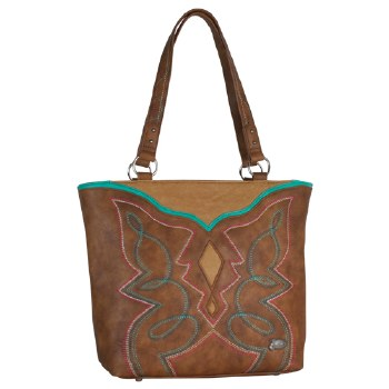 Justin Boot Stitch Handbag