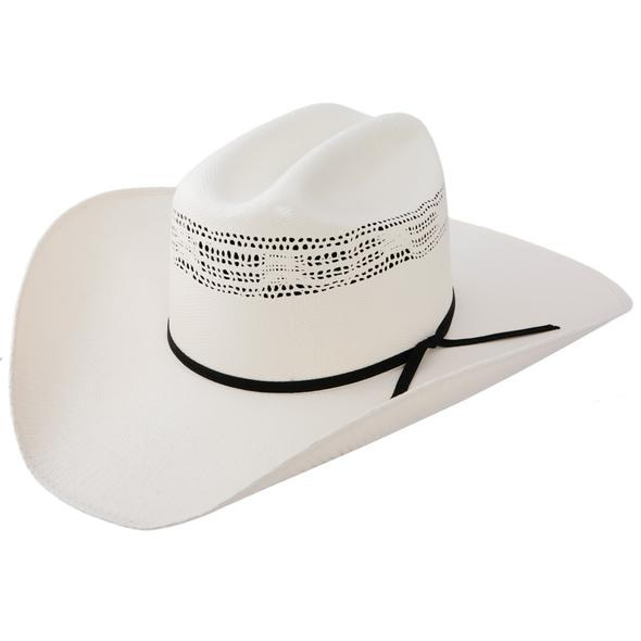 Resistol Denison 7X Bangora Straw Cowboy Hat