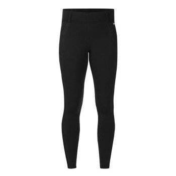 Kerrits Embossed Power Stretch Knee Patch Black Xsmall