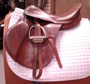 "Zaldi All Purpose Saddle 17"" Used"
