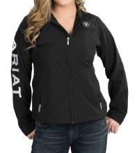 Ariat Ladies Team Softshell Full Zip Up Jacket XS