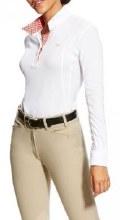 Ariat Women's Sunstopper Pro Show Shirt Long Sleeves L