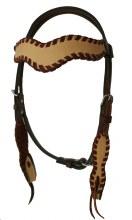 Alamo Saddlery WA Wave Style Headstall