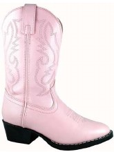 Denver Pink Leather Children's Boots Sz 13