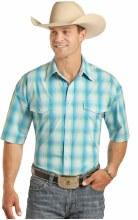 Panhandle Men's Short Sleeve Snap Small