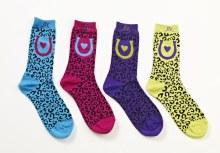 Mid-Calf Cheetah Sock
