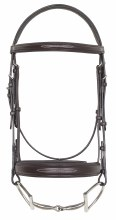 Wide Fancy Stitch Padded Snaffle Bridle