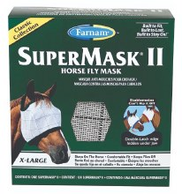 SuperMask II Horse XL Fly Mask