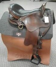 """Big Horn Endurance Saddle 16"""" Used"""