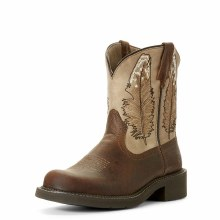 Ariat Fatbaby Heritage Feather Dark Buffalo Brown 6.5