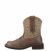 Ariat Fatbaby Harmony Crackled Brown 7.5