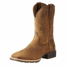 Ariat Hybrid Rancher Western Boot Distressed Brown 9.5 D