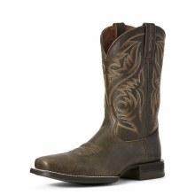 Ariat Sport Herdsman Western Boot Brooklyn Brown 9