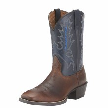 Ariat Sport Outfitter Western Boot Fiddle Brown