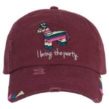 Catchfly Basefall Cap Maroon Pinata Party