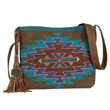Catchfly Kylie Crossbody Aztec Bag