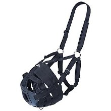Tough 1 Easy Breath V Grazing Muzzle-Yearling/Pony Size