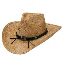 Charlie 1 Horse Tin Penny Straw Hat