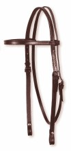 Circle Y Basic Double Ply Browband Headstall