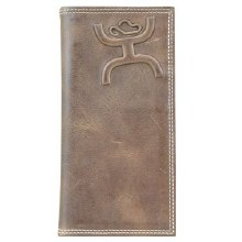 Hooey Rodeo Wallet Distressed Brown