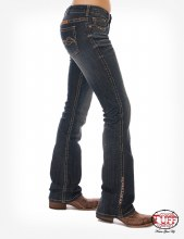 """Cowgirl Tuff Co. """"Western Coral"""" Jeans"""