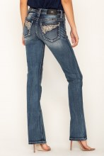 """Miss Me """"Fly With Me"""" Bootcut Jean"""