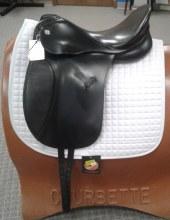 """Kieffer Dressage Saddle 16"""" Used"""