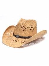 Charlie 1 Horse Line Em Up Straw Hat