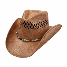 Charlie One Horse Maui Wowi Straw Hat